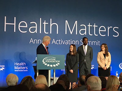 Clinton Foundation's Innovation Award for Health Care Provider Training and Education award