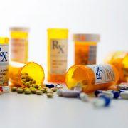 pill bottles and pills