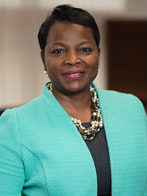 A close-up of Dr. Marva Moxey Mims at Children's National.