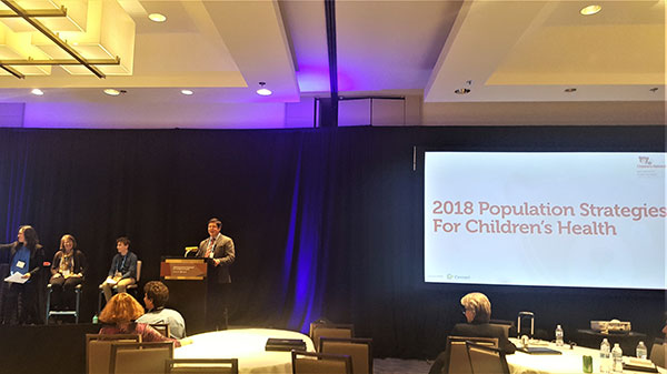 Millenial Panel at Population Strategies for Childrens Health Summit