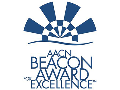 AACN Beacon Award logo