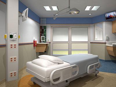 PICU room