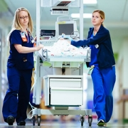 Photo of nurses in the cardiac intensive care unit at Children's National