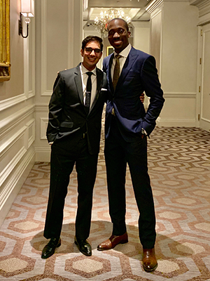 Ankoor Shah and Kofi Essel