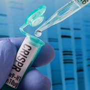 "tube labeled ""CRISPR"""
