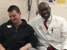 Jake and Dr. Oluigbo