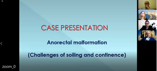 Anorectal malformation case presentation