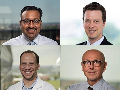 Drs. Dewesh Agrawal, Andrew Dauber, Robert Freishtat, Vittorio Gallo