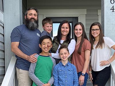 Maddox and family