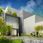 Research & Innovation Campus building entrance