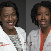 Denver Brown, M.D., and Celina Brunson, M.D.