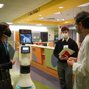 FCC Chairwoman Jessica Rosenworcel visited Children's National Hospital