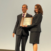 Charles Berul receives award