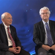 Drs. Packer and van den Acker at the Pediatric Device Innovators Forum